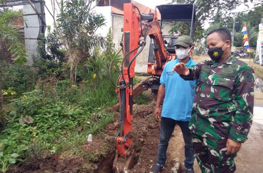 TMMD 112, Pembangunan Fisik di Kelurahan Bedahan dan Pengasinan