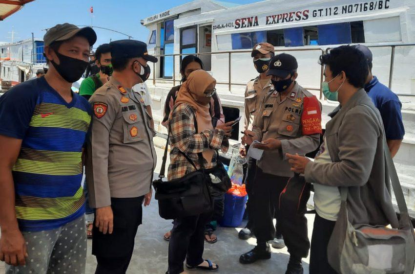 Giatkan Ops Yustisi Gabungan, Polsek Kep Seribu Utara Jaring 14 Pelanggar ProKes