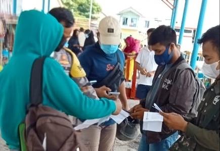 Gelar Ops Yustisi Gabungan di 4 Pulau, Polsek Kep Seribu Selatan Jaring 11 Pelanggar ProKes