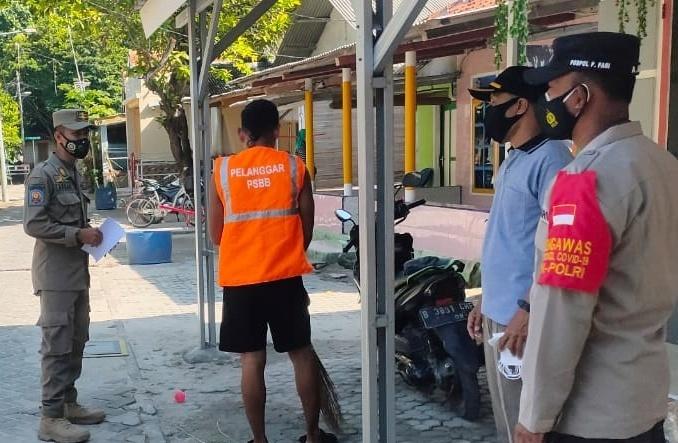 Gelar Ops Yustisi Gabungan di 4 Pulau, Polsek Kep Seribu Selatan Dapati 15 Pelanggar ProKes