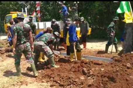 Kapendam Jaya : TMMD Ke-112 Sejahteraan Masyarakat Depok