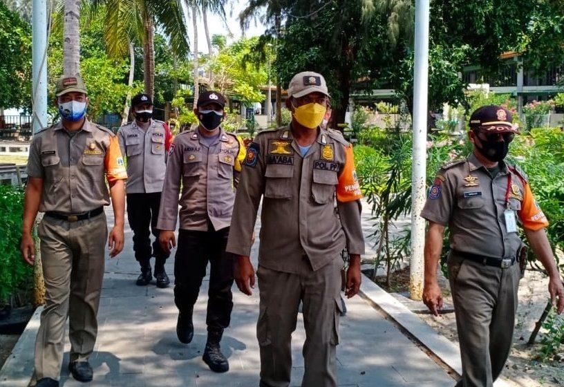 Disiplinkan Warga, Polsek Kep Seribu Selatan Terus Giatkan Ops Yustisi Gabungan