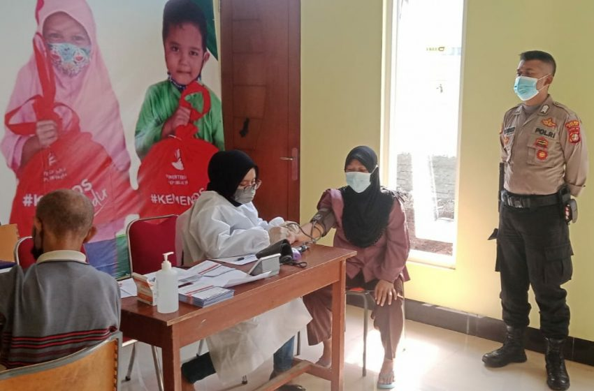 Kapolsek Cinere:16 Gerai Vaksinasi Merdeka Aglomerasi Guna Percepatan Vaksin di Penyangga Ibu Kota