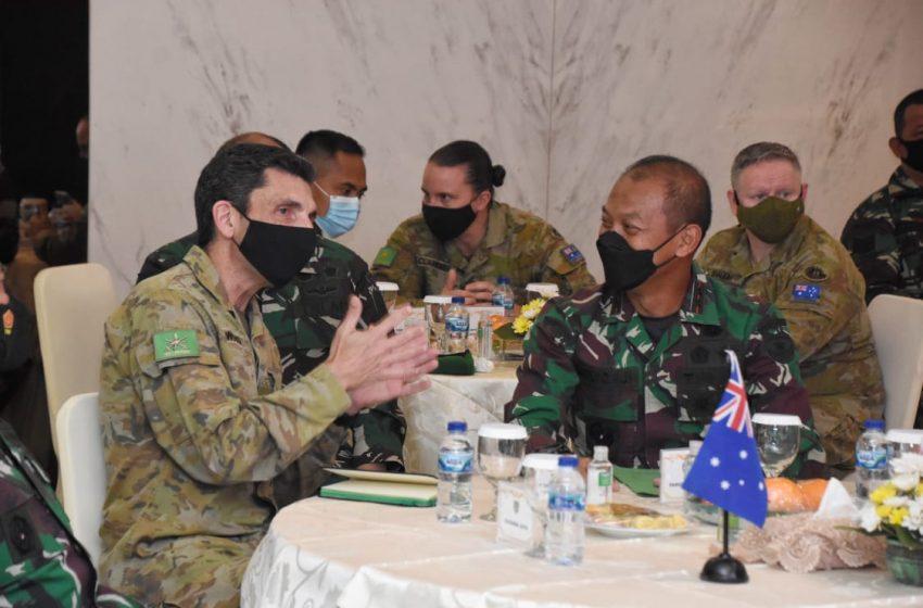 Pangdam Jaya Terima Kunjungan Kehormatan Panglima Divisi 1 AD Australia