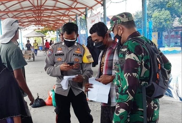 Serentak Ops Yustisi di 2 Pulau, Polsek Kep Seribu Utara Jaring 8 Pelanggar