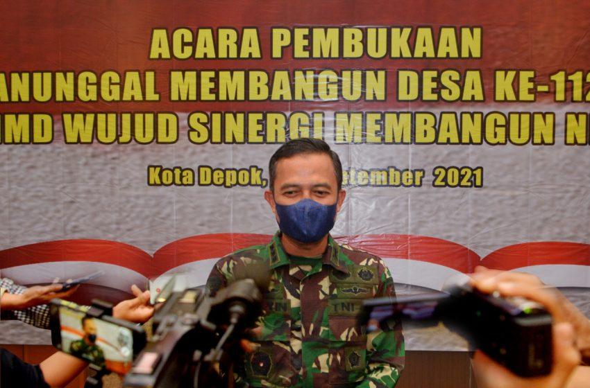 Kapendam Jaya : TMMD Bentuk Komitmen TNI Membantu Masyarakat