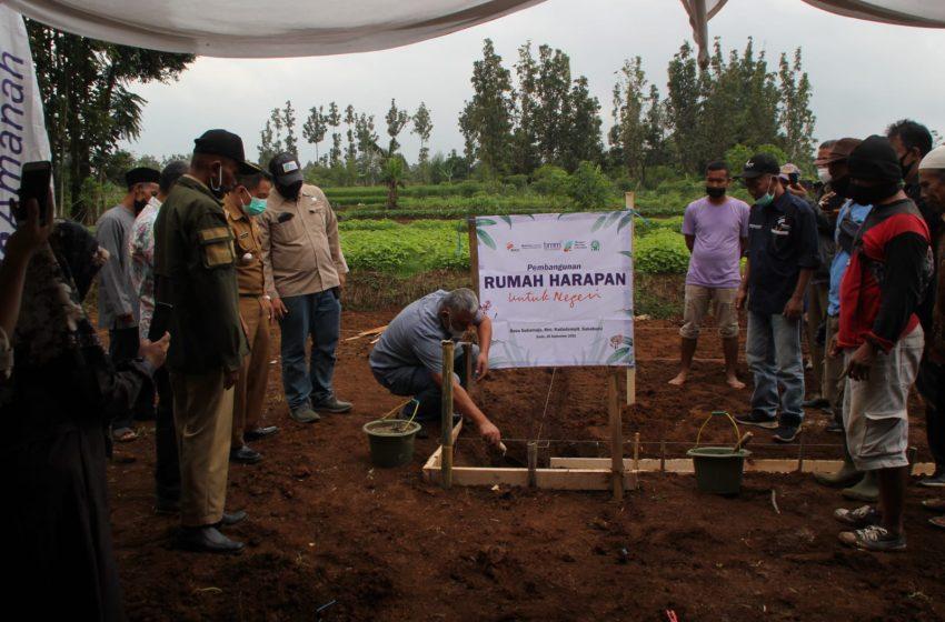 Kolaborasi Bakrie Amanah dan Baitulmaal Muamalat, Hadirkan Rumah Harapan untuk Negeri di Kampung Cipetir