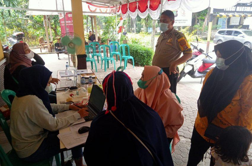 Hari ini, Gerai Vaksin 46 Kelurahan Limo Menyiapkan Dosis I dan II Bagi Masyarakat Selain Door to Door
