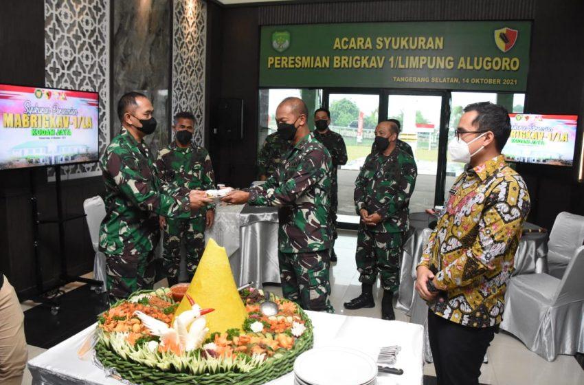 Pangdam Jaya : Pembentukan Brigkav Ini Menambah Kekuatan Pertahanan di Kodam Jaya Sebagai Pengamanan Ibukota Negara
