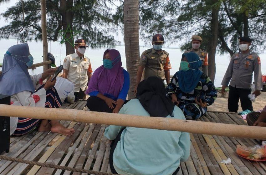 Disiplinkan Warga, Polsek Kep Seribu Selatan Adakan Ops Yustisi Gabungan di Pulau Tidung