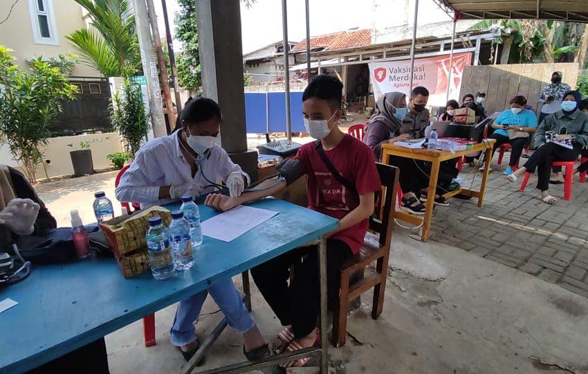 Gerai 49 Selenggarakan Vaksinasi Massal Presisi Tahap ke-2, Dosis I dan 2