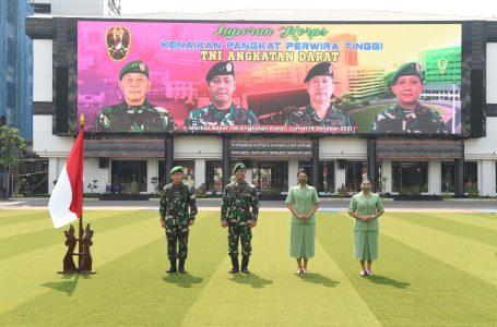 Resmi Naik Pangkat, Brigjen TNI I Made Riawan: Semua Berkat Do'a dan Restu Mama