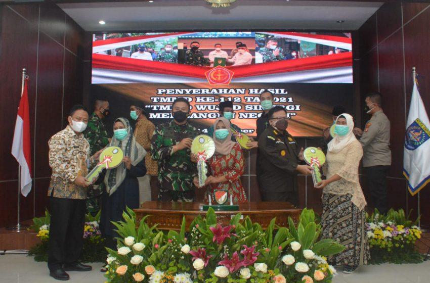 Kodam Jaya Tutup TMMD ke-112 Wilayah Kodim 0508/Depok
