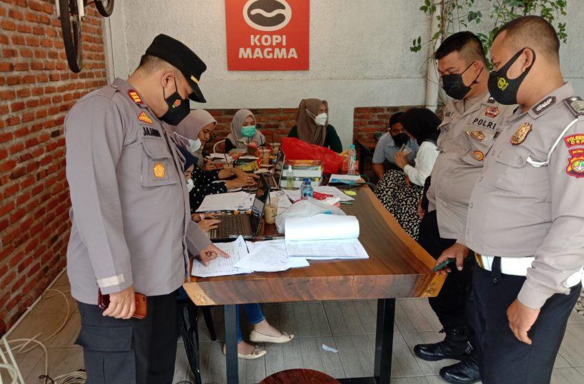 117 Warga Kelurahan Krukut Melaksanakan Vaksinasi ke II